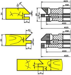 Фрезы для обработки мебельной обвязки 02-37