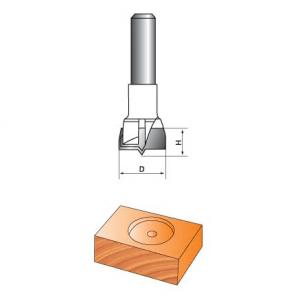 Фреза GLOBUS 1011 для дверных петель d8-D26-h18-Z2