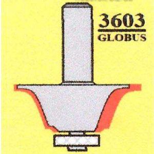 Фреза GLOBUS 3603 кромочная калёвочная d8-D37-h18